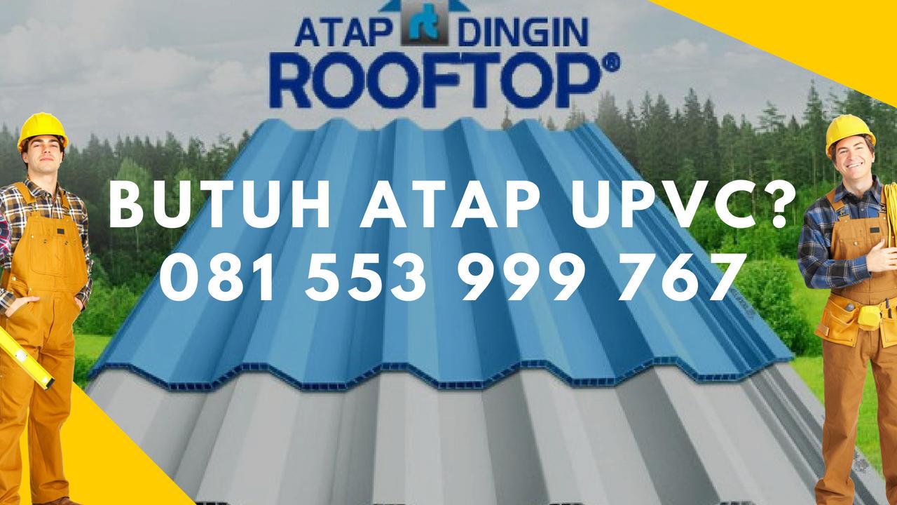 Jual Atap uPVC Rooftop Termurah  Mojokerto